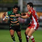 Blackpool Citizen: Northampton's Ken Pisi scored a try in his team's Aviva Premiership win at Newcastle.