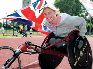 Blackpool athlete Shelly prepares for next race