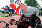 MEDAL: Paralympic hero Shelly Woods