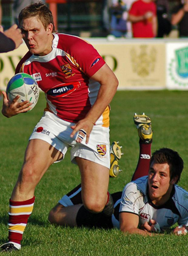 Tom Albinson, Fylde's new outside centre
