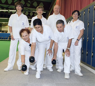 Test match for Blackpool blind bowlers