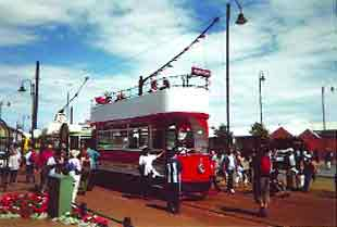 POPULAR: Tram Sunday attracts thousands of visitors