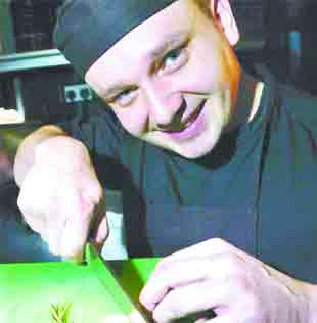 HIGH STEAKS: Paul Speakman, head chef at Piccolino, Clitheroe