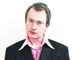 THINKING MAN'S COMIC: Robin Ince